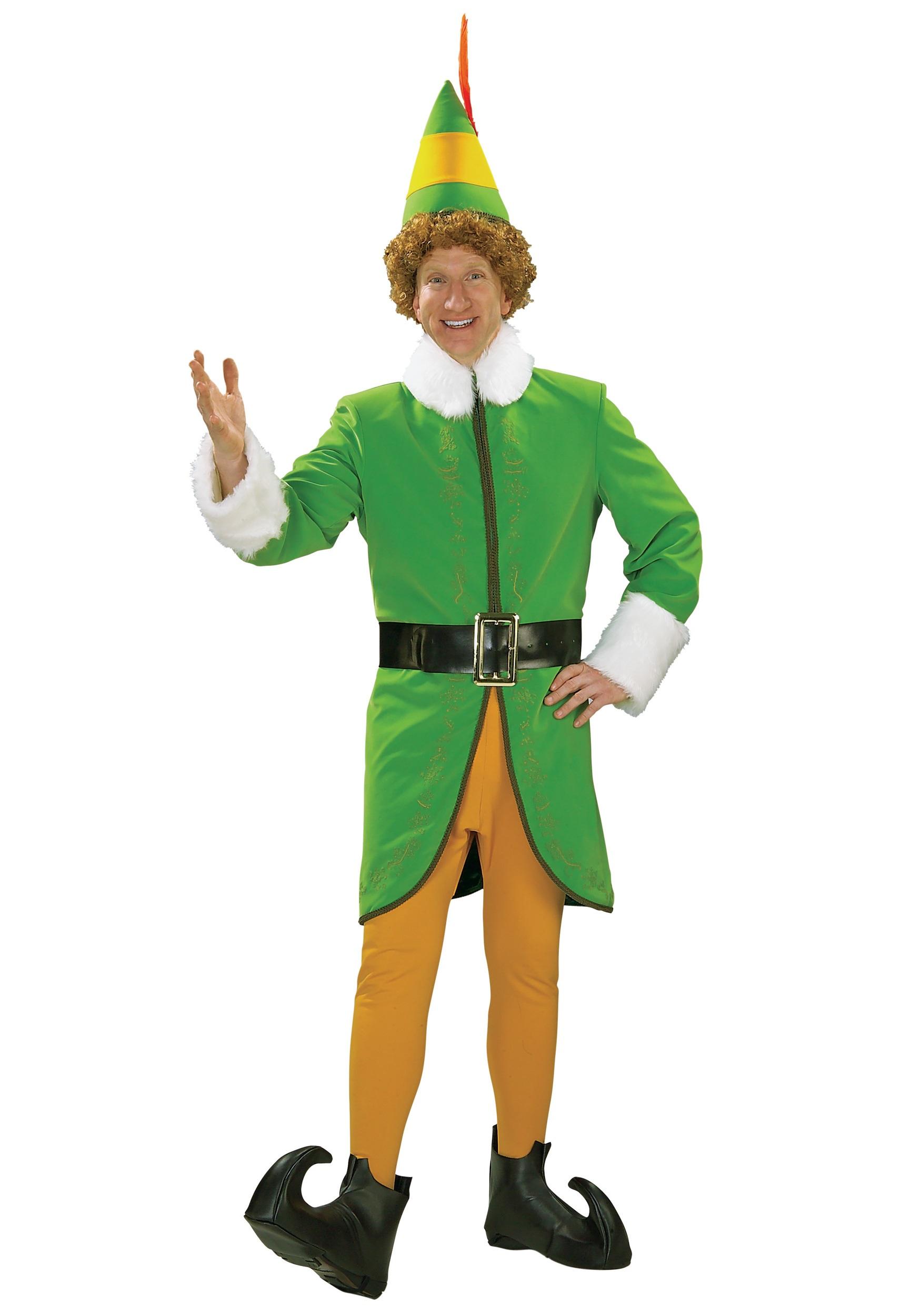 Deluxe Buddy the Elf Costume  sc 1 st  Halloween Costumes & Deluxe Buddy the Elf Costume - Halloween Costumes