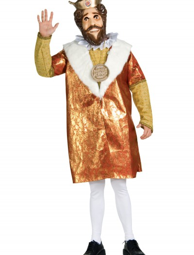 Deluxe Burger King Costume, halloween costume (Deluxe Burger King Costume)
