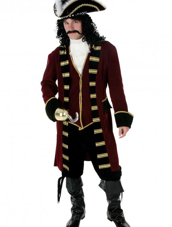 Deluxe Captain Hook Costume, halloween costume (Deluxe Captain Hook Costume)