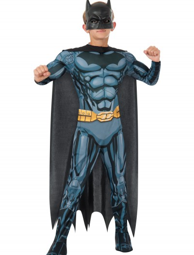 Deluxe Child Batman Costume, halloween costume (Deluxe Child Batman Costume)