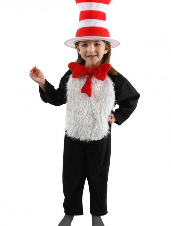 Deluxe Child Cat in the Hat Costume, halloween costume (Deluxe Child Cat in the Hat Costume)