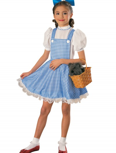 Deluxe Child Dorothy Costume, halloween costume (Deluxe Child Dorothy Costume)