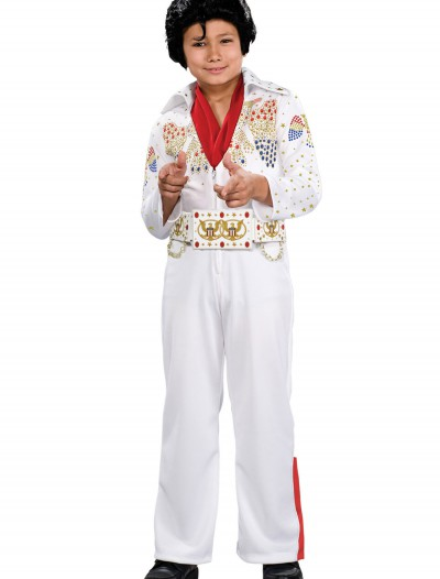 Deluxe Child Elvis Costume, halloween costume (Deluxe Child Elvis Costume)