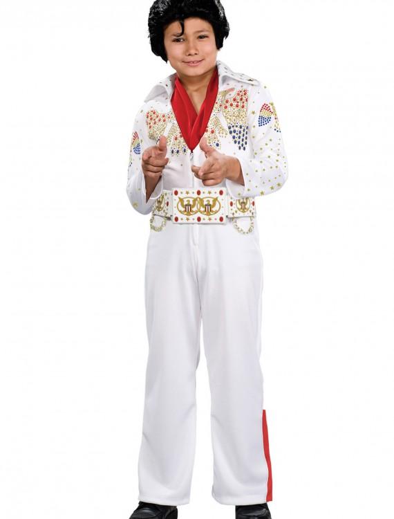 Deluxe Child Elvis Costume, halloween costume (Deluxe Child Elvis Costume)