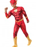 Deluxe Child Flash Costume, halloween costume (Deluxe Child Flash Costume)