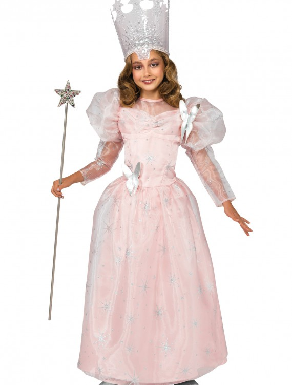 Deluxe Child Glinda the Good Witch Costume, halloween costume (Deluxe Child Glinda the Good Witch Costume)