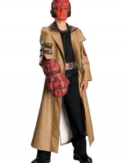 Deluxe Child Hellboy Costume, halloween costume (Deluxe Child Hellboy Costume)