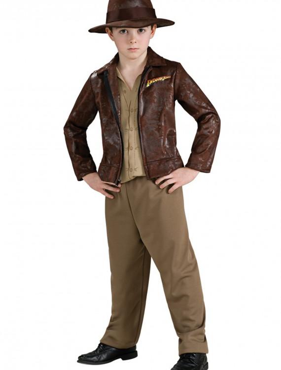 Deluxe Child Indiana Jones Costume, halloween costume (Deluxe Child Indiana Jones Costume)