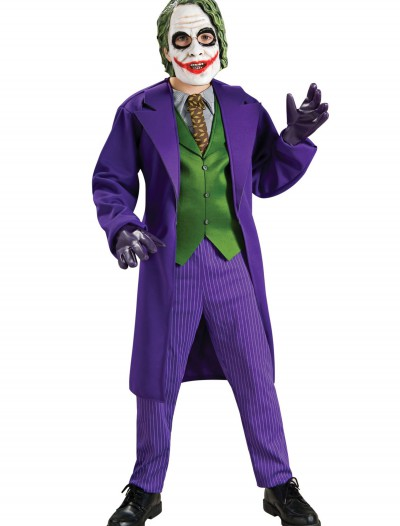 Deluxe Child Joker Costume, halloween costume (Deluxe Child Joker Costume)