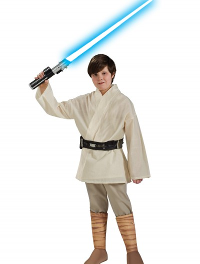 Deluxe Child Luke Skywalker Costume halloween costume (Deluxe Child Luke Skywalker Costume)  sc 1 st  Halloween Costumes & Child C3PO Deluxe Costume - Halloween Costumes