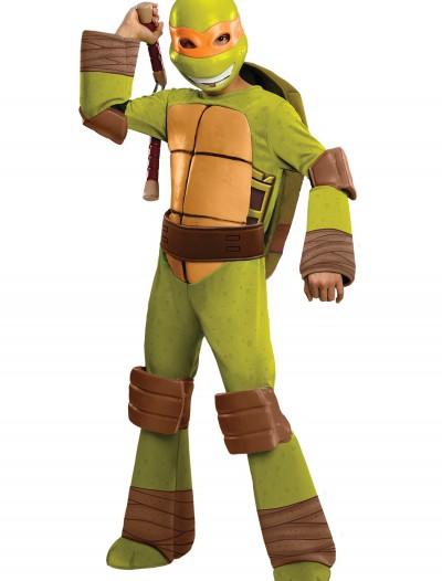 Deluxe Child Michelangelo Costume, halloween costume (Deluxe Child Michelangelo Costume)