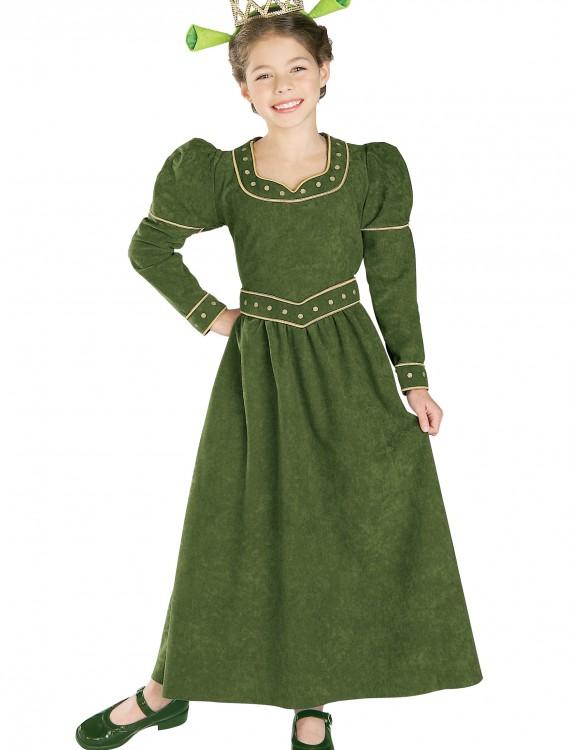 Deluxe Child Princess Fiona Costume, halloween costume (Deluxe Child Princess Fiona Costume)