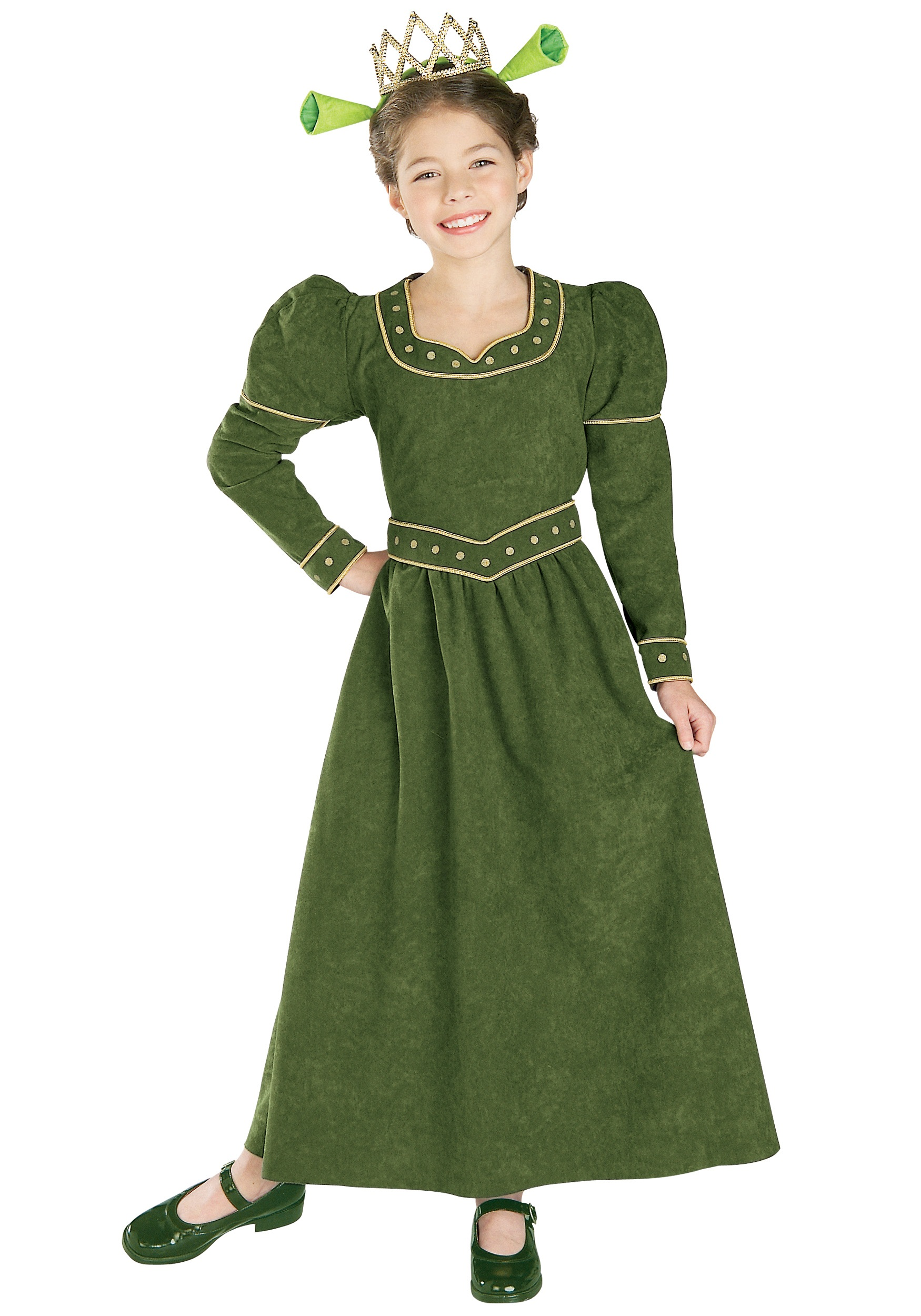 Deluxe Child Princess Fiona Costume  sc 1 st  Halloween Costumes & Deluxe Child Princess Fiona Costume - Halloween Costumes