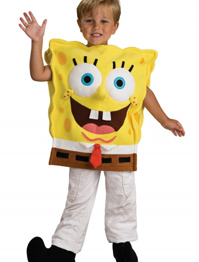 Deluxe Child SpongeBob Costume, halloween costume (Deluxe Child SpongeBob Costume)