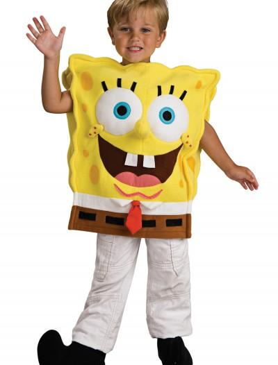 Deluxe Child SpongeBob Costume, halloween costume (Deluxe Child SpongeBob Costume)