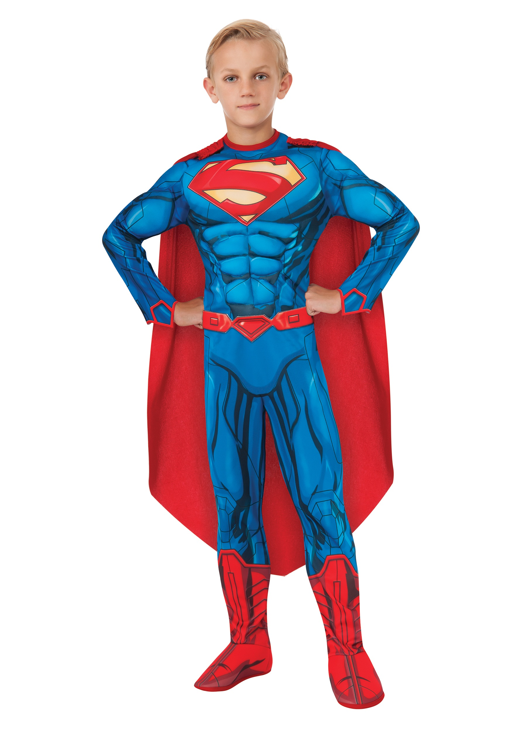 Deluxe Child Superman Costume  sc 1 st  Halloween Costumes & Deluxe Child Superman Costume - Halloween Costumes