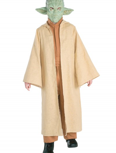 Deluxe Child Yoda Costume, halloween costume (Deluxe Child Yoda Costume)