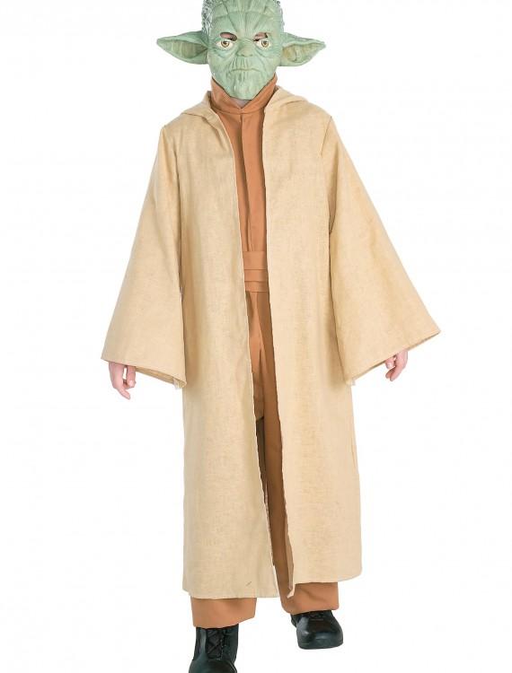 Deluxe Child Yoda Costume, halloween costume (Deluxe Child Yoda Costume)