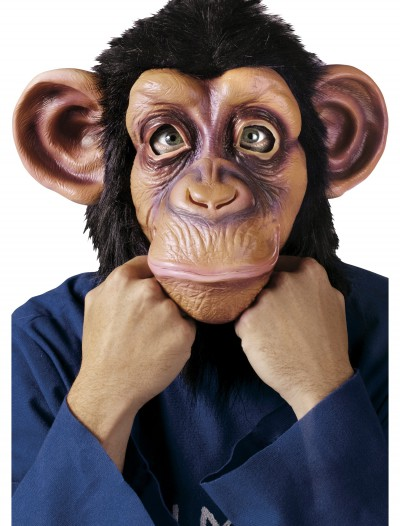 Deluxe Chimp Mask, halloween costume (Deluxe Chimp Mask)