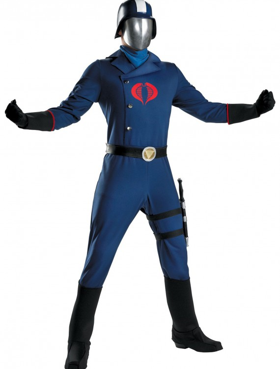 Deluxe Cobra Commander Costume, halloween costume (Deluxe Cobra Commander Costume)