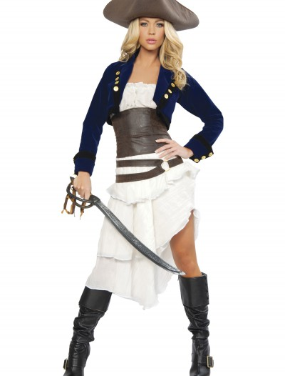 Deluxe Colonial Pirate Costume, halloween costume (Deluxe Colonial Pirate Costume)