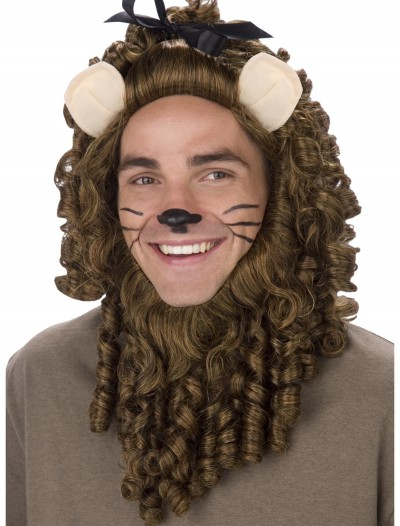 Deluxe Curly Lion Wig, halloween costume (Deluxe Curly Lion Wig)