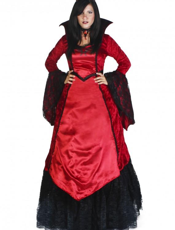 Deluxe Devil Temptress Costume, halloween costume (Deluxe Devil Temptress Costume)