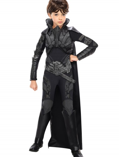 Deluxe Faora Child Costume, halloween costume (Deluxe Faora Child Costume)