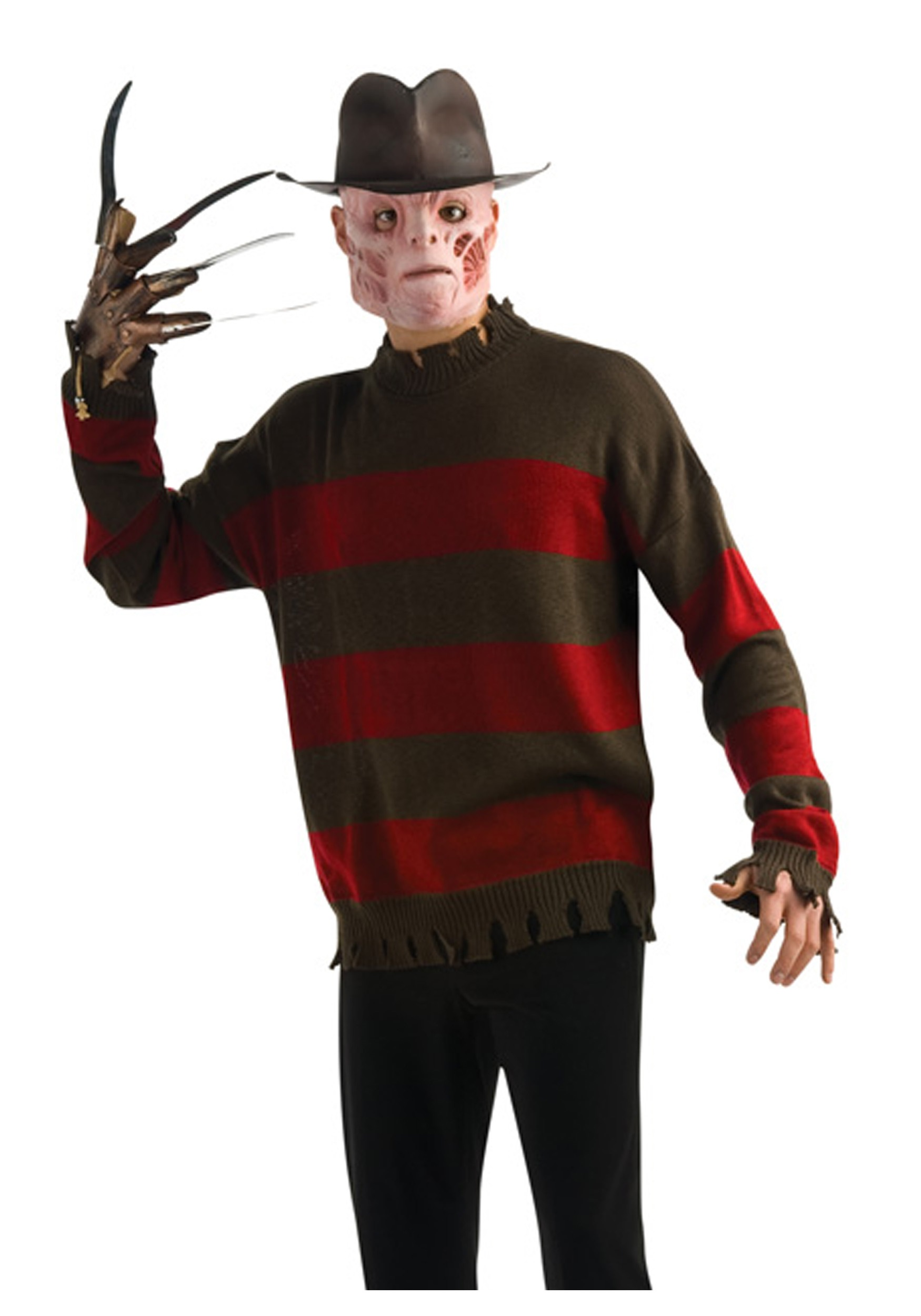 deluxe freddy krueger sweater - Freddy Krueger Halloween Decorations