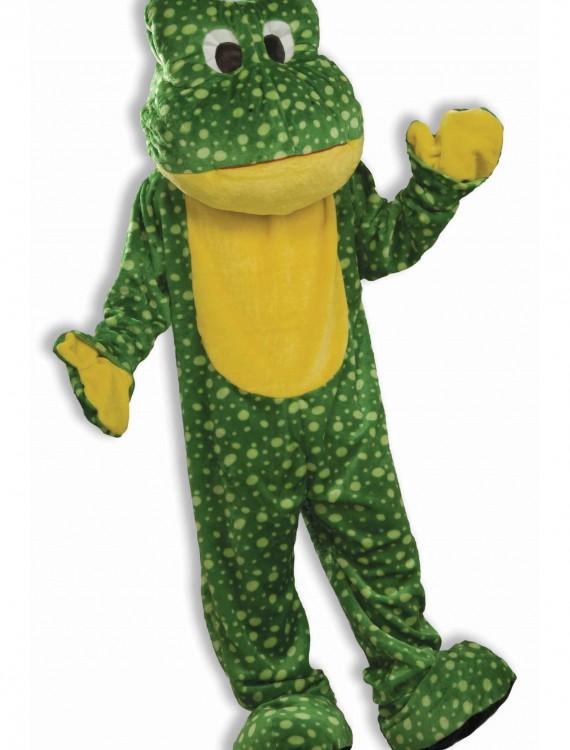 Deluxe Frog Mascot Costume, halloween costume (Deluxe Frog Mascot Costume)
