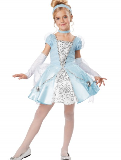 Deluxe Girls Cinderella Costume, halloween costume (Deluxe Girls Cinderella Costume)