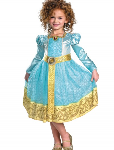 Deluxe Girls Merida Costume, halloween costume (Deluxe Girls Merida Costume)
