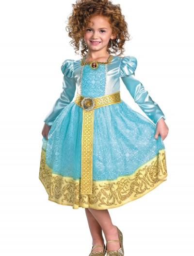 Deluxe Girls Merida Costume, halloween costume (Deluxe Girls Merida Costume)