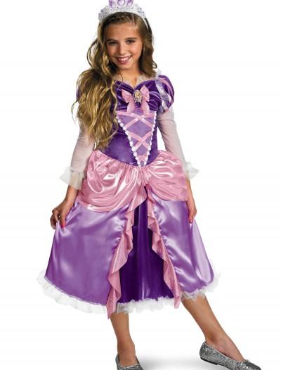 Deluxe Girls Tangled Rapunzel Costume, halloween costume (Deluxe Girls Tangled Rapunzel Costume)
