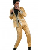 Deluxe Gold Satin Elvis Costume, halloween costume (Deluxe Gold Satin Elvis Costume)