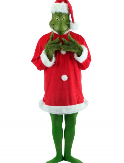 Deluxe Grinch Costume, halloween costume (Deluxe Grinch Costume)