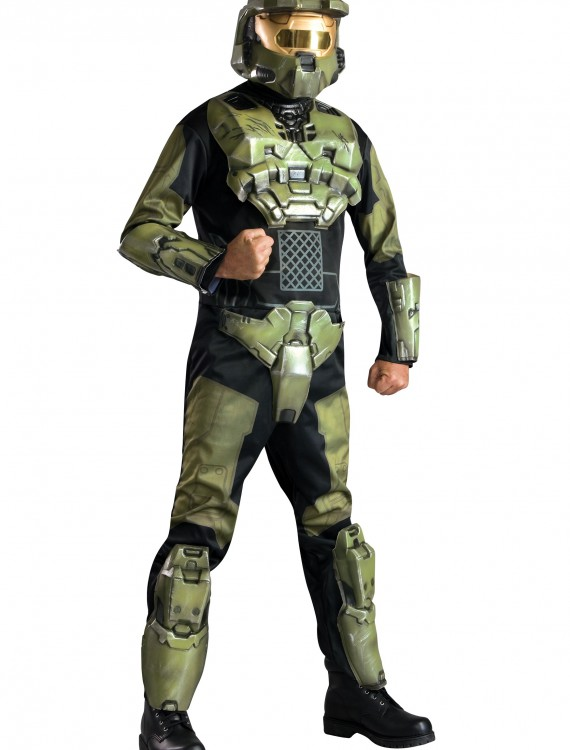 Deluxe Halo Master Chief Costume, halloween costume (Deluxe Halo Master Chief Costume)