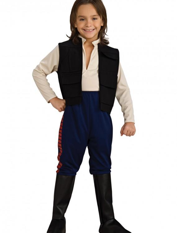 Deluxe Han Solo Child Costume, halloween costume (Deluxe Han Solo Child Costume)