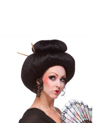 Deluxe Japanese Lady Wig, halloween costume (Deluxe Japanese Lady Wig)