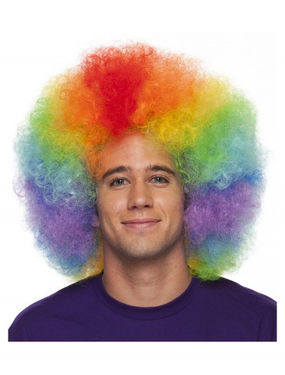 Deluxe Jumbo Clown Wig, halloween costume (Deluxe Jumbo Clown Wig)