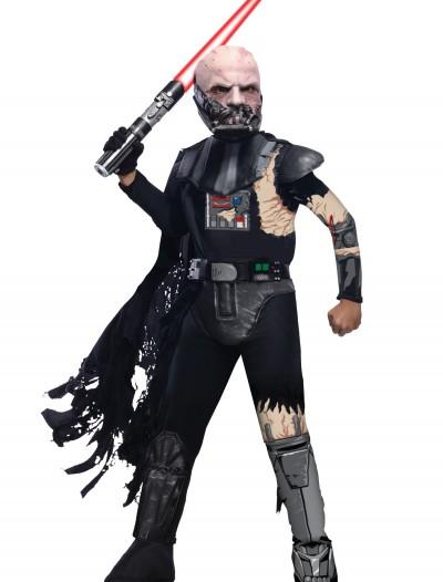 Deluxe Kids Battle Damaged Darth Vader Costume, halloween costume (Deluxe Kids Battle Damaged Darth Vader Costume)