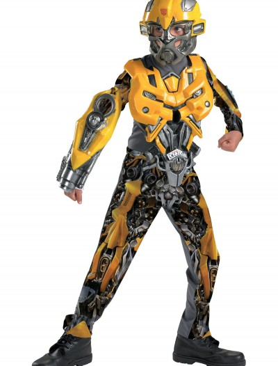 Deluxe Kid's Bumblebee Costume, halloween costume (Deluxe Kid's Bumblebee Costume)