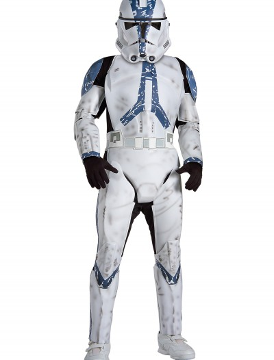 Deluxe Kids Clone Trooper EP3 Costume, halloween costume (Deluxe Kids Clone Trooper EP3 Costume)