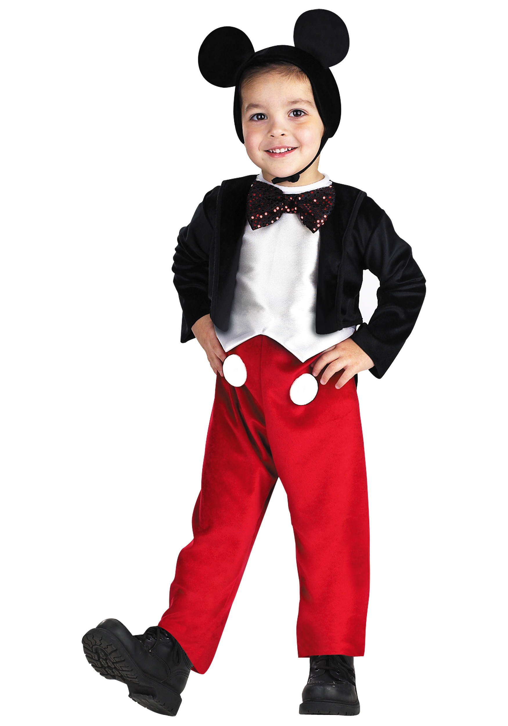 Deluxe Kids Mickey Mouse Costume  sc 1 st  Halloween Costumes & Deluxe Kids Mickey Mouse Costume - Halloween Costumes