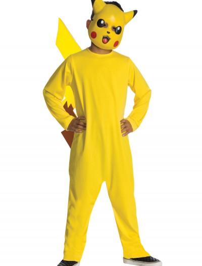 Deluxe Kids Pikachu Costume, halloween costume (Deluxe Kids Pikachu Costume)