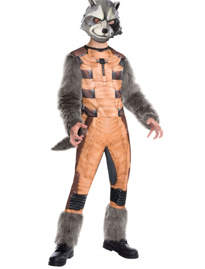Deluxe Kids Rocket Raccoon Costume, halloween costume (Deluxe Kids Rocket Raccoon Costume)