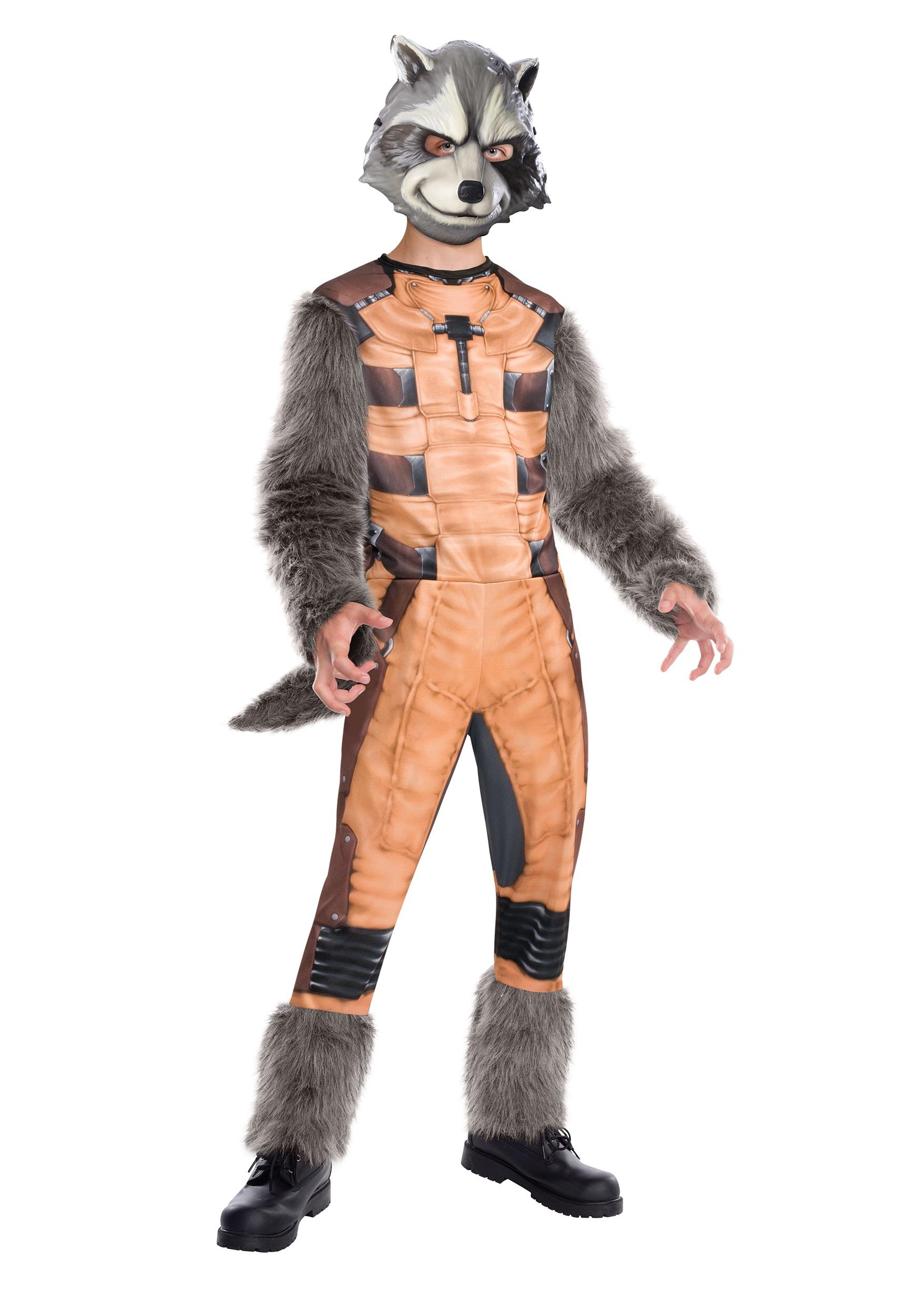deluxe kids rocket raccoon costume halloween costumes
