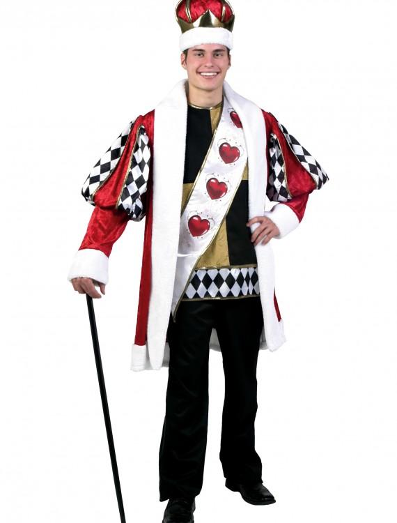 Deluxe King of Hearts Costume, halloween costume (Deluxe King of Hearts Costume)