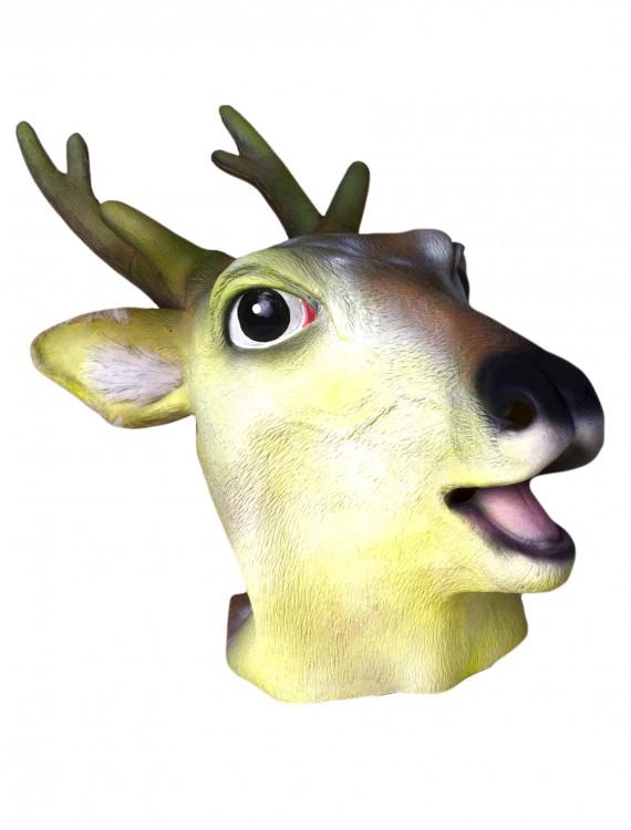Deluxe Latex Deer Mask, halloween costume (Deluxe Latex Deer Mask)