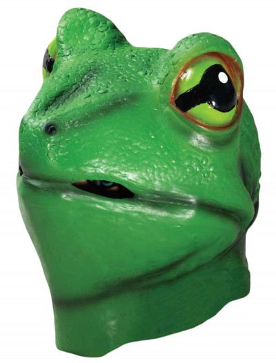 Deluxe Latex Frog Mask, halloween costume (Deluxe Latex Frog Mask)